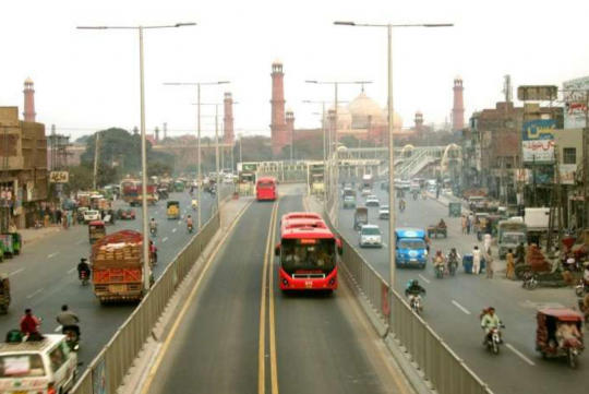 Bus Rapid Transit System (BRTS) Project-Package V