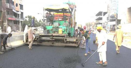 Widening & Improvments Of Main Sheikhupura Road, Sheikhupura